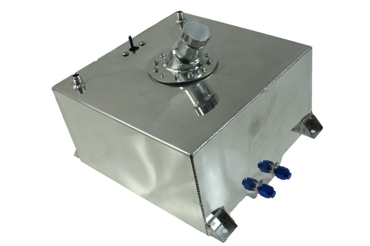 Zbiornik Paliwa TurboWorks 40L z wlewem paliwa i czujnikiem - GRUBYGARAGE - Sklep Tuningowy